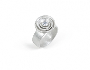 Fingerring Diamantglanz(Nr.444)